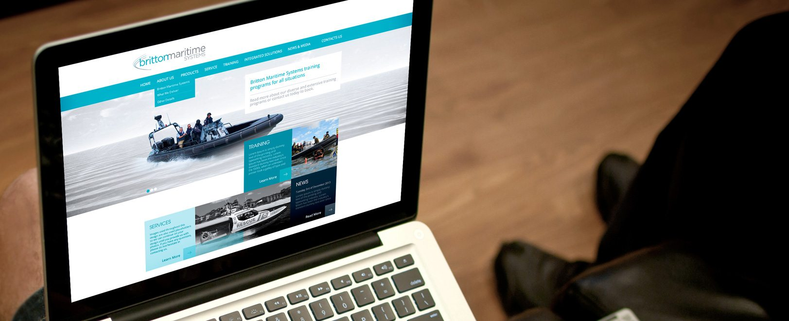 Britton Maritime - Cronulla Web Design - Graphic Design Caringbah